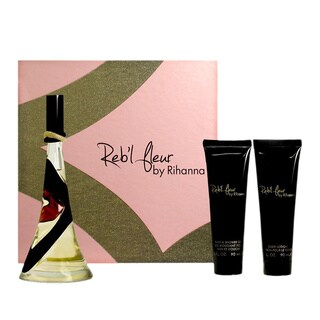 Rihanna Reb'l Fleur Women's 3-piece Fragrance Gift Set