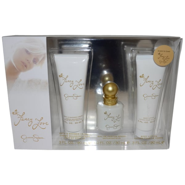 Jessica Simpson Fancy Love Women's 3-piece Fragrance Gift Set