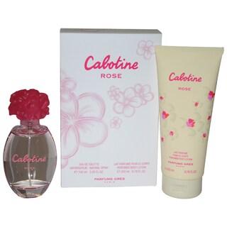 Gres Cabotine Rose Women's 2-piece Gift Set
