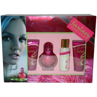 Britney Spears Fantasy Women's 4-piece Gift Set