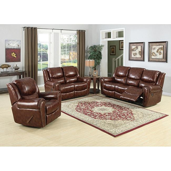 Sheldon Brown Sofa and Loveseat Set
