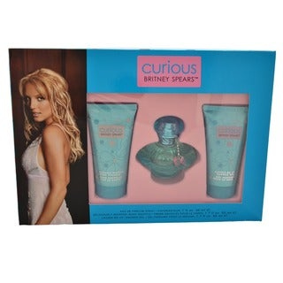 Britney Spears Curious Women's 3-piece Gift Set