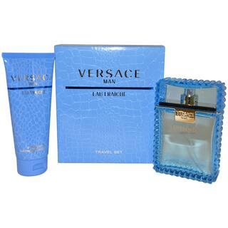 Versace Man Eau Fraiche Men's 2-piece Fragrance Gift Set|https://ak1.ostkcdn.com/images/products/6408450/P14017312.jpg?impolicy=medium