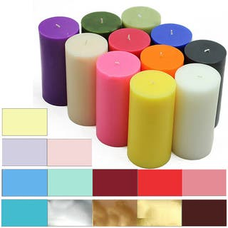3x6 Inch Pillar Candles (Pack of 12)|https://ak1.ostkcdn.com/images/products/6408455/P14017321.jpg?impolicy=medium