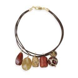 Glitzy Rocks Goldplated Multi-gemstone Charm Bracelet|https://ak1.ostkcdn.com/images/products/6408506/78/568/Glitzy-Rocks-Goldplated-Multi-gemstone-Charm-Bracelet-P14017339.jpg?impolicy=medium