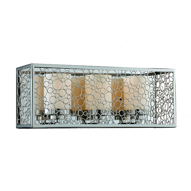 Contempo 3-Light Chrome Bath Fixture - Thumbnail 0