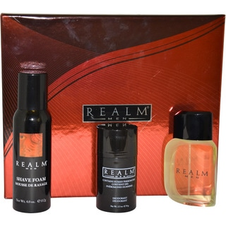Realm by Erox Men's 3-piece Gift Set