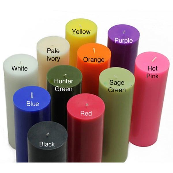 Shop Bulk 2 Inch X 6 Inch Pillar Candles Case Of 24