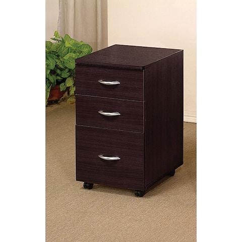 Copper Grove Daintree Espresso Finish File Cabinet