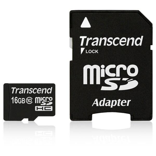 Transcend TS16GUSDHC10 16 GB microSDHC
