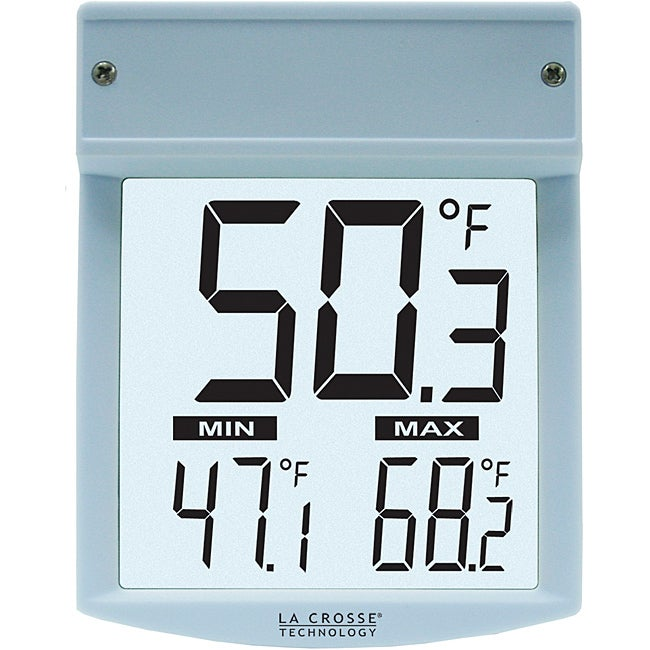 La Crosse Technology Outdoor Window Thermometer (Light bl...