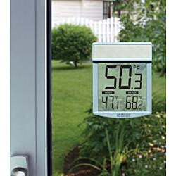 Outdoor Window Thermometer - Thumbnail 1