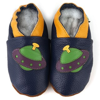 UFO Soft Sole Leather Baby Shoes (2 options available)