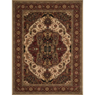Dorchester Beige and Rust Rug - 2' x3'