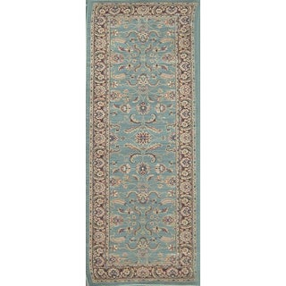 Dorchester Brown and Blue Rug (2' x 7'9)