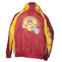 Washington Redskins Throwback Hooded Jacket - Thumbnail 1