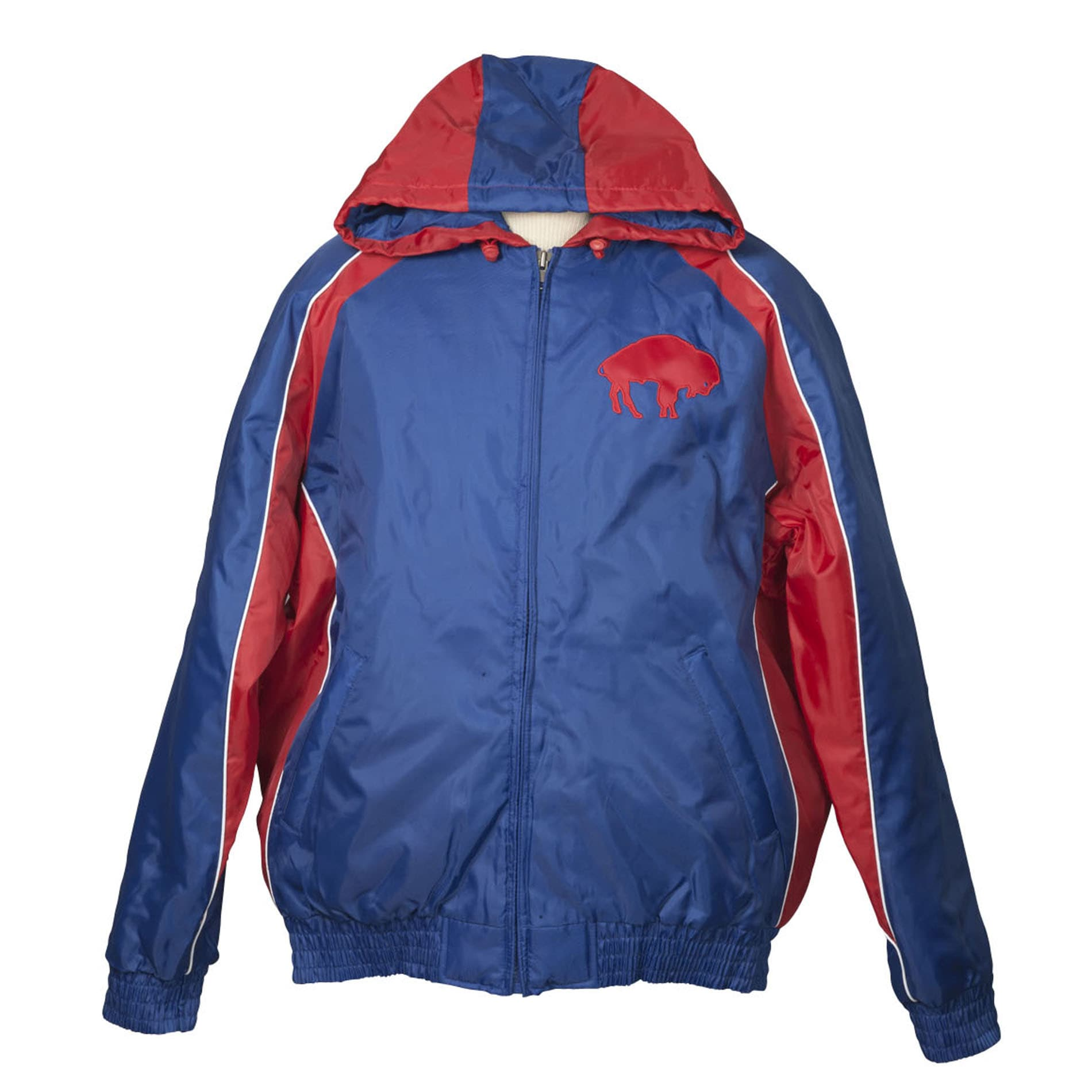 Buffalo Bills Throwback Hooded Heavy Weight Jacket