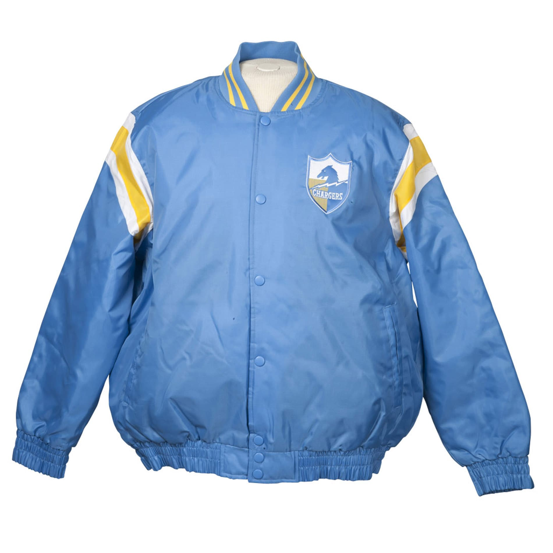 San Diego Chargers Heavy Weight Throwback Winter Jacket