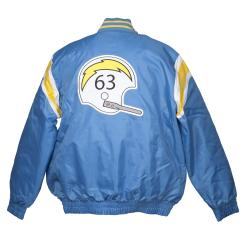 San Diego Chargers Heavy Weight Throwback Winter Jacket - Thumbnail 1