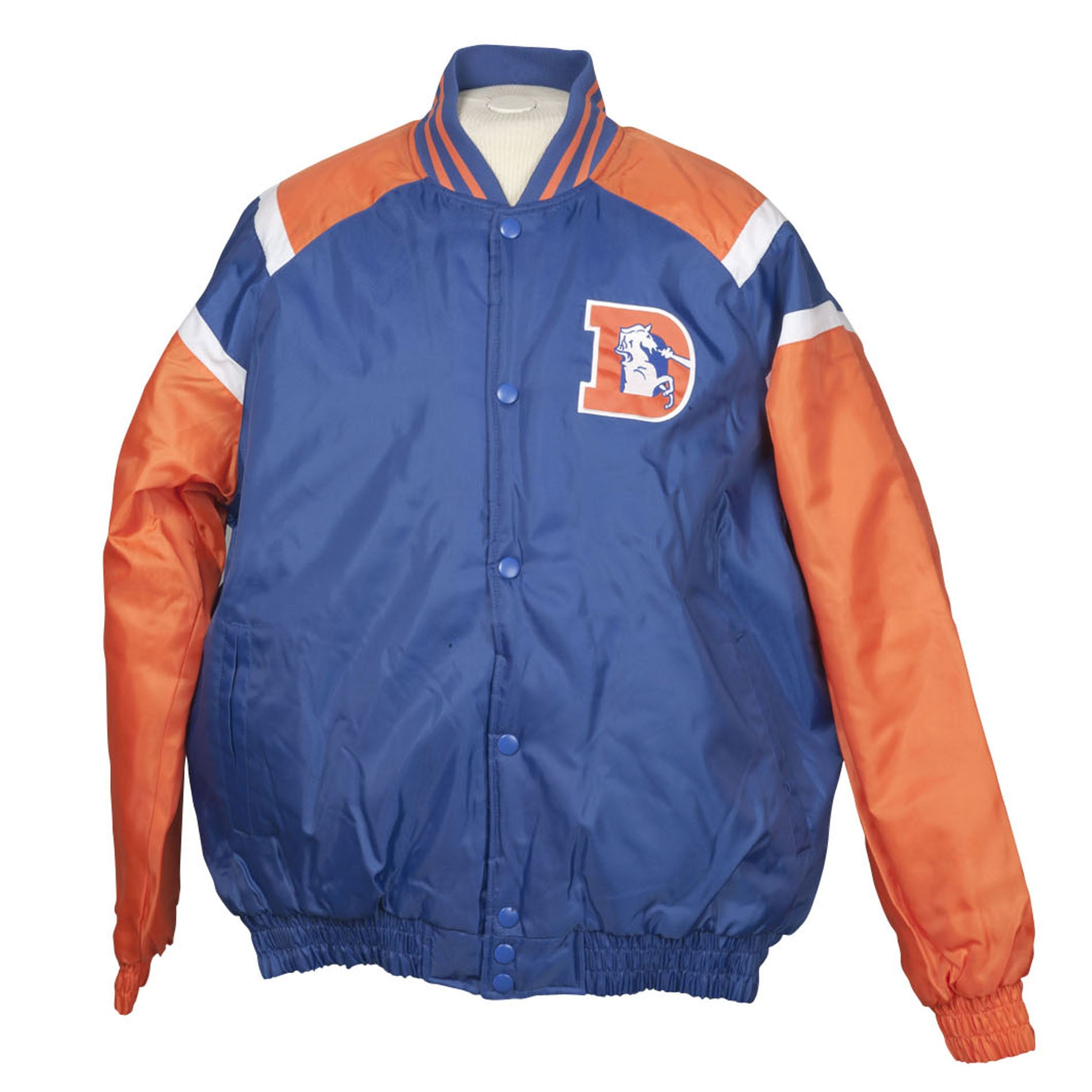 Denver Broncos Heavy Weight Throwback Winter Jacket
