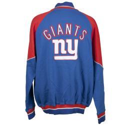 New York Giants Full Zip Cotton Track Jacket - Thumbnail 1