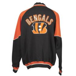 Cincinnati Bengals Full Zip Cotton Track Jacket