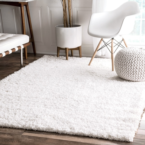 Nuloom alexa my soft and plush multi shag rug 9 39 x 12 for Living room rugs 9x12