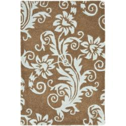Safavieh Handmade New Zealand Wool Paris Light Brown Rug (2' x 3')