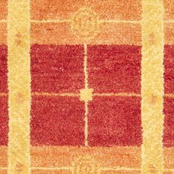 Safavieh Hand-knotted Gabeh Moonfest Rust Wool Rug (3' x 5')