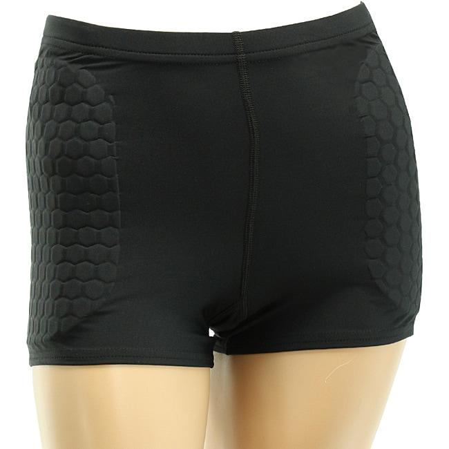 McDavid Women's Black Stirker Soccer Shorts