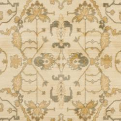 Safavieh Oushak Cream/ Cream Powerloomed Rug (5'3 x 7'6) - Thumbnail 2