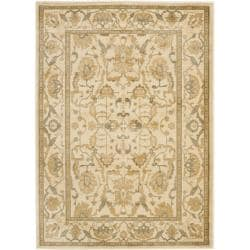 Safavieh Oushak Traditional Cream Rug (5'3 x 7'6)