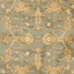 Safavieh Oushak Heirloom Traditional Blue/ Cream Rug (4' x 5'7) - Thumbnail 2