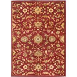 "Safavieh Oushak Red/Gold Powerloomed Area Rug (4' x 5'7"")"