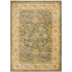 Safavieh Oushak Heirloom Traditional Grey/ Cream Rug (4' x 5'7)