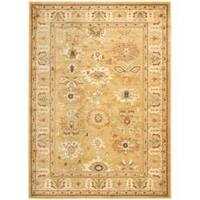 Safavieh Oushak Heirloom Traditional Gold Area Rug - 4' x 5'7'