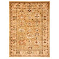 Safavieh Oushak Heirloom Traditional Gold Area Rug - 4' x 5'7""