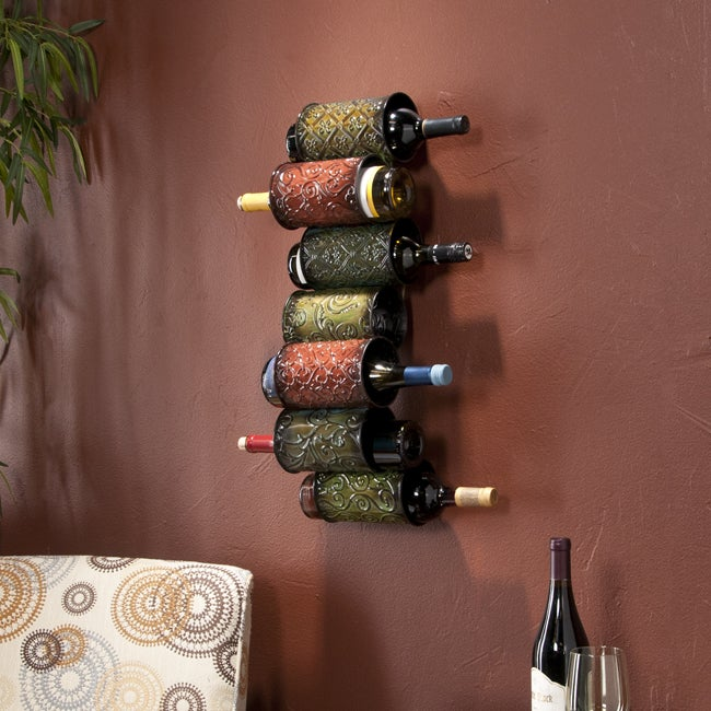 Upton Home Tiago Wall Mounted Wine Rack