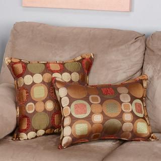 Sherry Kline Metro Spice Combo Pillows (Set of 2)
