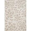 Alliyah Handmade Bleach Tan New Zealand Blend Wool Rug  (8'x10')