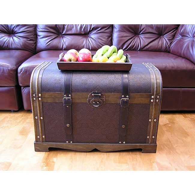 Trunk Treasure Chest Free Shipping Today Overstockcom 14019087