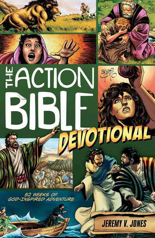 The Action Bible Devotional: 52 Weeks of God-Inspired Adventure (Paperback)