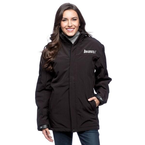 Mossi Women's Black Trek Mid-weather Jacket