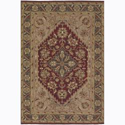 Artist's Loom Hand-knotted Traditional Oriental Wool Rug (5'x7'6) - Thumbnail 0