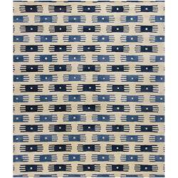 Artist's Loom Hand-tufted Contemporary Geometric Wool Rug - 7'9 x 10'6 - Thumbnail 0