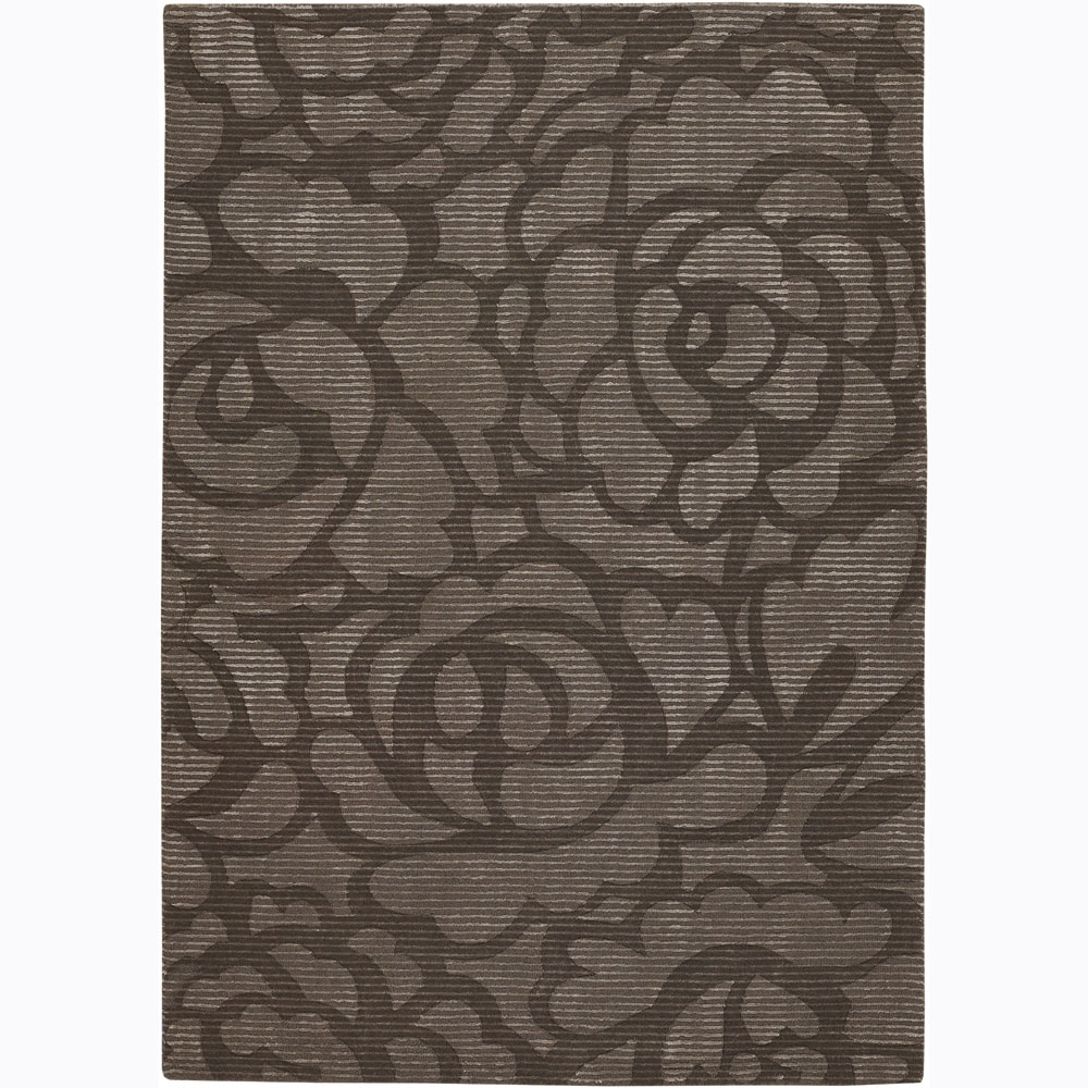 Artist's Loom Hand-tufted Transitional Floral Rug (2'6 x 7'6)