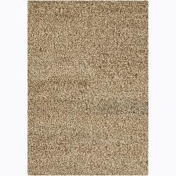 Artist's Loom Hand-woven Shag Rug (5' x 7'6)