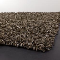 Artist's Loom Hand-woven Shag Rug (9' x 13')