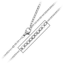 Inox Stainless Steel Black Resin Cross Necklace