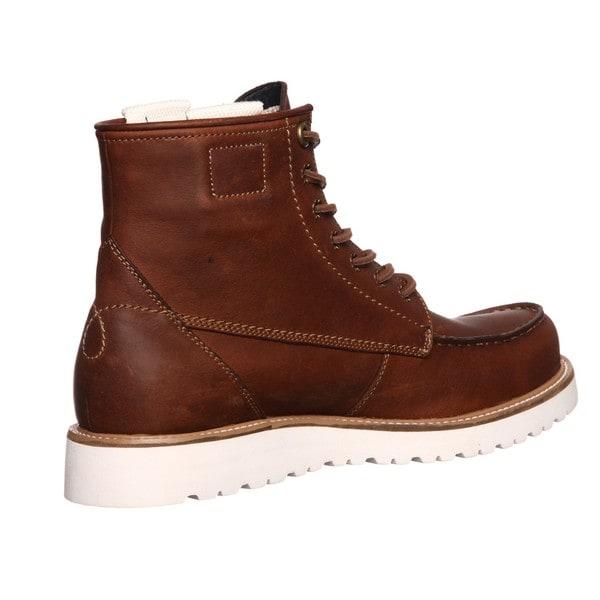 Calvin Klein Jeans Men's 'Roy' Leather Boots